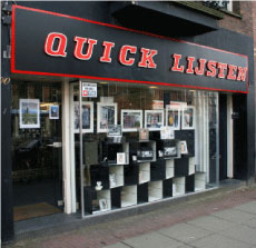 Quicklijsten 3het adres voor uw inlijstingen in Amsterdam